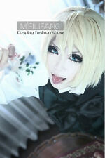 Black Butler Kuroshitsuji Alois Trancy Light Blonde Short Cosplay Wig