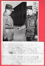 1955 Hand Grenade Hero Dumped Grenade Before it Exploded Original News Wirephoto