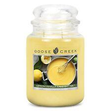 Goose Creek 24oz Large Jar Candle Lemon Vanilla Cake Batter