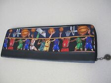Nicole Miller Traveling case for Ties leather silk basketball