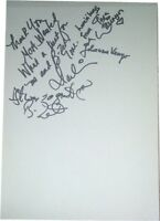 B Zet SIGNED AUTOGRAPHS MTVs Most Wanted Guest Book Page RARE AFTAL UACC RD