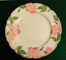 """Vintage 1958-60 mark Franciscan Desert Rose 10 5/8"""" DINNER PLATE"""