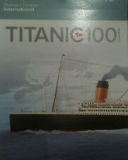 TITANIC 1x BOOKLET OF 6 INT STAMPS 100TH ANNIVERSARY - FREE SHIPPING WORLDWIDE