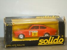 Opel Kadett GTE Rallye - Solido 70 France 1:43 in Box *40672
