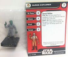 Star Wars Alliance & Empire 40/60 Duros Explorer (C) Miniature
