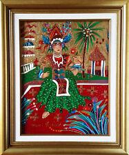 Yuri Gorbachev Original Painting ,,BALINESE PRINCESS ,,Oil on canvas,with C.O.A.