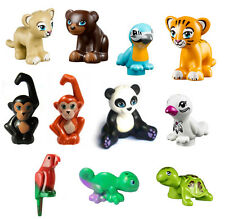 LEGO 11 pcs FRIENDS ZOO ANIMAL Bear Bird Lion Tiger Monkey Minifig Figure nature