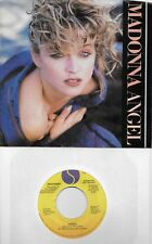 MADONNA  Angel  rare promo 45 with PicSleeve