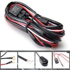 40A 12V Driving Fog light Wire Wiring Harness Kit LED Work Light Bar Cable