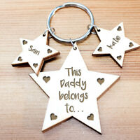 Personalised Gifts For Him Daddy Grandad Mummy Grandma Nanny Men Keyring Gifts