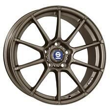 4x Sparco Assetto Gara Matt Bronze Wheels - 17x7.5in ET45 5x114.3 PCD 63.3CB