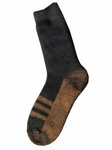 Goldstar Heated Copper Socks 2 Pairs Black Athletic Relief Travel Running Energy