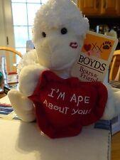 "Boyds Bears! ""I'M Ape About You"" Ape! New W/Tags"