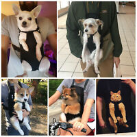 Pet Puppy Dog Cat Mesh Sling Carry Pack Backpack Carrier Travel Bag Comfort Soft