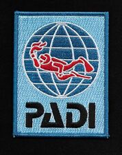 PADI DIVER SWIMMER UNDERWATER DIVE SCUBA DIVING WATER DIVER PATCH