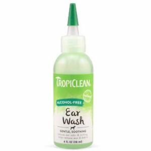 Tropiclean Alcohol Free Ear Wash 118ml - 261556