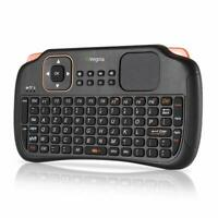 Ovegna S1 : Mini Clavier Wireless 2.4Ghz (AZERTY) sans Fil avecTouchpad