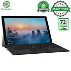 Microsoft Surface Pro 4 I7 6650u 2.20ghz 8gb 256gb Ssd Windows 10 Tablet Laptop