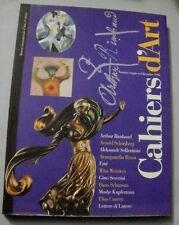 rivista CAHIERS D'ART n.cinque/sei dicembre 1994 / Rimbaud/ Ertè / Wenders ...