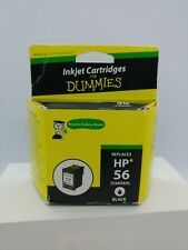 New Inkjet Cartridge For Dummies HP 56 Replacement Black Remanufactured Ex 03/21