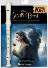 Beauty and the Beast Recorder Fun Pack with Songbook and Instrument 000235594