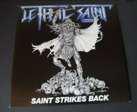 "LETHAL SAINT Saint strikes back 7"" ltd. new/mint NWOBHM style from Cyprus"