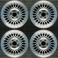 """Lincoln Mark Series Machined 15"""" Oem Wheel Set 1980 to 1989"""