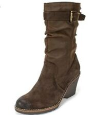 NEW MOUNTAIN SOLE LAURA LYNN Womens BROWN/SUEDE BOOTS 918-MS25862 Size 8