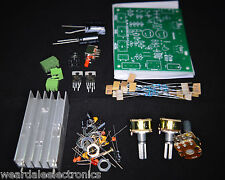 ELECTRONICS KIT TDA2030 2 x 15W AMPLIFIER KIT DUAL TRACK 12V 4-8 OHM  PACK OF 1