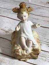 Vintage Sanmyro Japan Child Christ Ceramic Figurine