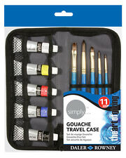 Daler Rowney Simply Gouache Paint - Travel Set