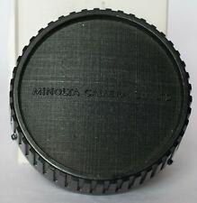 Genuine vintage Minolta MD fit rear lens cap.
