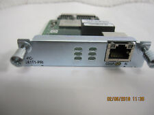 Cisco HWIC-1CE1T1-PRI= High-Speed WAN Interface Card Channelized T1/E1 and ISDN