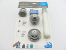 LifeStraw Universal Water Bottle Filter Adapter Kit Fits Standard & Wide Mouth !