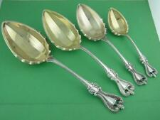 Sterling TOWLE 4 Serving Spoons in various sizes OLD COLONIAL 1895