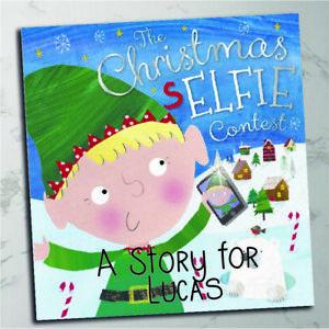 Personalised children's Xmas Eve book - The Christmas Selfie Elf Elf story book