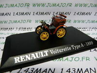 coche 1/43 M6 Universal Hobbies : carro RENAULT TIPO A 1899