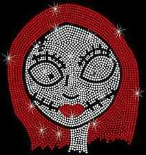 Nightmare Before Christmas Sally Hotfix Iron On Rhinestone Transfer