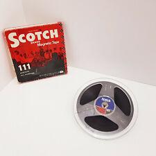 "Scotch 111 3M 7"" Reel to Reel Tape Reel Recording Tape 7 inch 18cm 1800ft 540m"