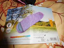 Schlafsack Kinder Dreamer Mumien körper gr. bis 125cm pink wasserabweisend warm