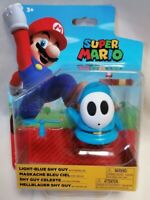 SUPER MARIO BROS - *New Unopened* Light-Blue Shy Guy Figure Jakks 2020 Nintendo