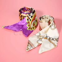 Fashion Ribbon Scarf Neckerchief Hair Band Bag Handle Wraps Small Neck Scarves