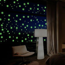 wall stickers decor merry christmas sticker window Luminous glow in the dark