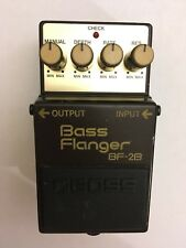 VINTAGE RARE Boss Bass Flanger BF 2B BF-2B Effect Pedal Made in Japan