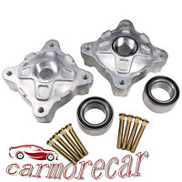 Wheel Hubs W/Studs And Bearings Front Left Right For Polaris RZR 800 EFI 2008-14