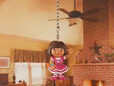 DORA THE EXPLORER Ceiling Fan Pull Light Lamp Chain Decoration K380