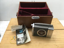 Vintage Bell & Howell 16mm Magazine Camera 200 w/ Carry Case Movie