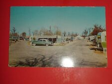 ZX805 Vintage Postcard Leahy's Tourist Court and Trailer Park Memphis Tennessee