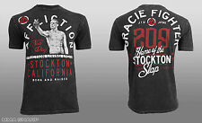 Affliction Men's Nate Diaz Tee Shirt Black Lava Wash X-Large