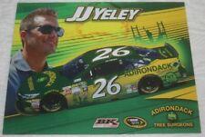 2015 J.J. Yeley Adirondack Tree Surgeons Toyota Camry NASCAR Sprint Cup postcard